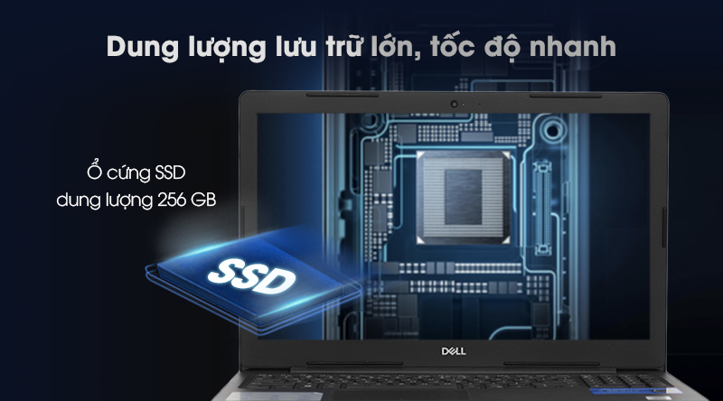 Laptop Dell Vostro 3590 i7 lưu trữ đủ dùng