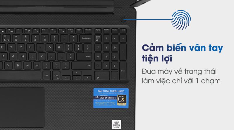 Laptop Dell Vostro 3590 i7 mở khóa mà không cần nhập mật khẩu