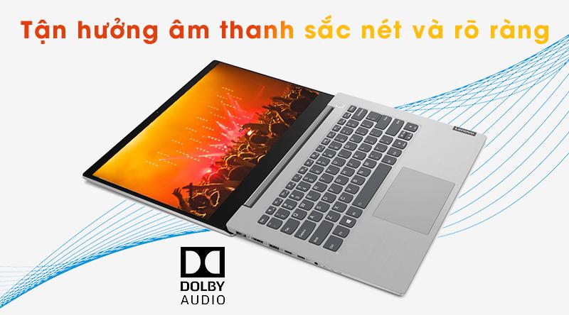 Laptop Lenovo ThinkBook 14IML được tinh chỉnh âm thanh Dolby Audio