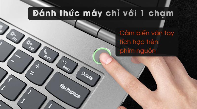 Laptop Lenovo ThinkBook 14IML  trang bị cảm biến vân tay