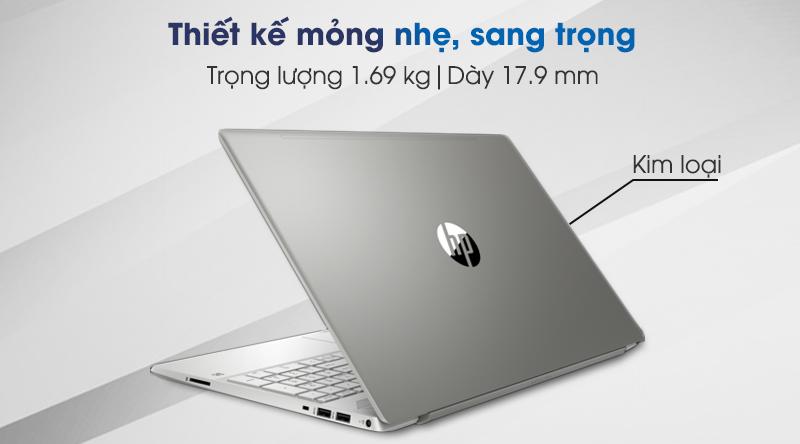 Laptop HP Pavilion 15 cs3010TU i3 (8QN78PA) có thiết kế mỏng nhẹ