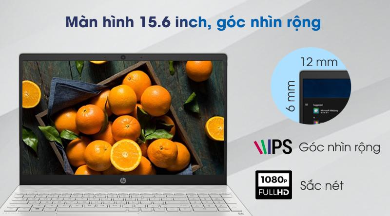 Laptop HP Pavilion 15 cs3010TU i3 (8QN78PA) trang bị màn hình Full HD