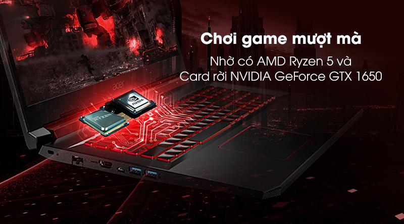 Acer Nitro AN515 | CPU AMD Ryzen 5