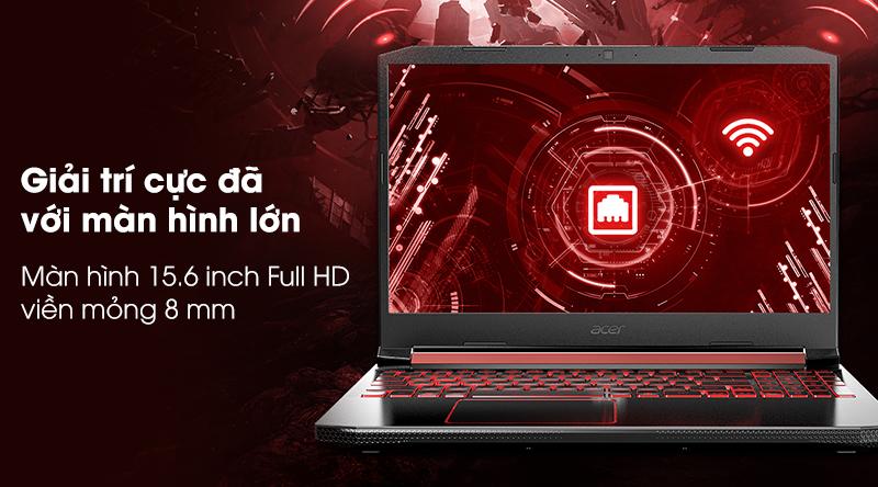 Màn hình Acer Nitro AN515 Full HD rộng 15.6 inch