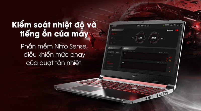 Acer Nitro AN515 | Tản nhiệt