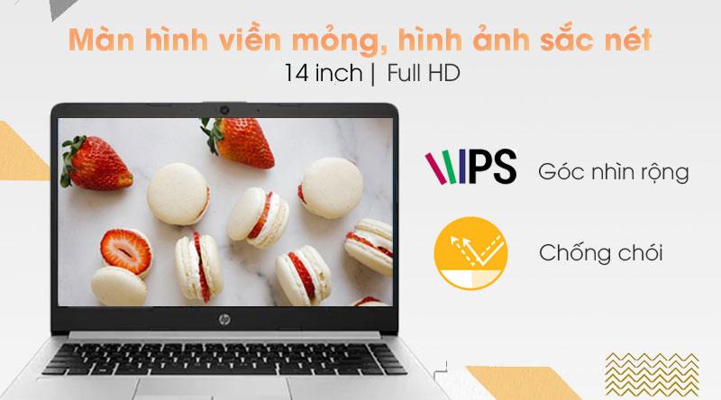 Laptop HP 348 G7 i3 8130U (9PG83PA) - Màn hình
