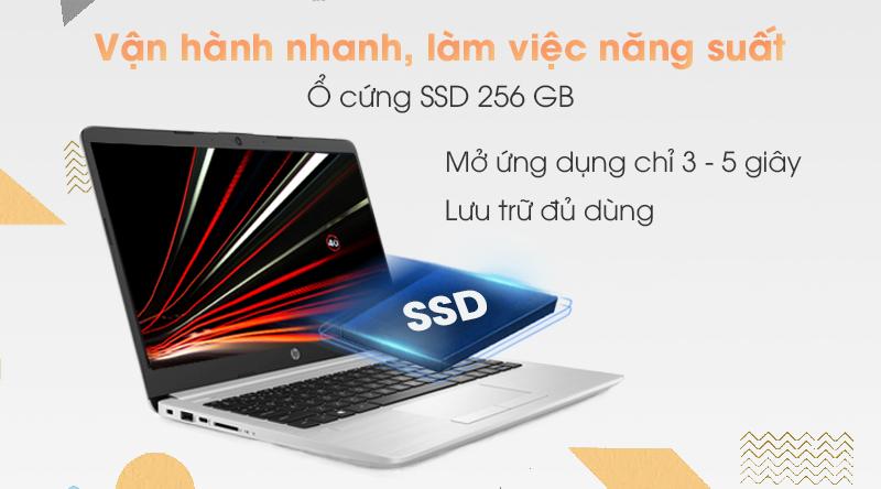 Laptop HP 348 G7 i3 (9PG83PA) có ổ cứng SSD 256 GB