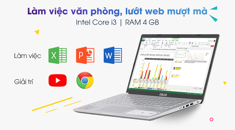 Laptop Asus VivoBook X409FA | Core i3