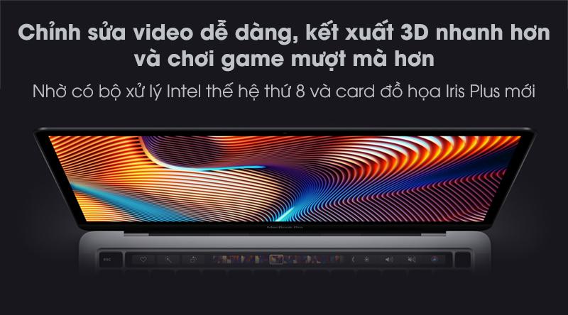 MacBook Pro Touch 2020 i5 (MXK62SA/A) | Kết xuất 3D
