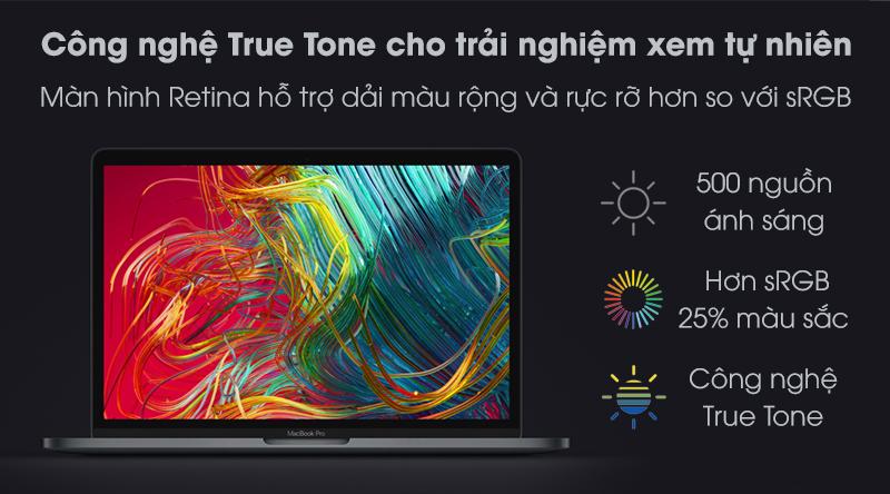 MacBook Pro Touch 2020 i5 (MXK62SA/A) | Kích thước 13.3 inch