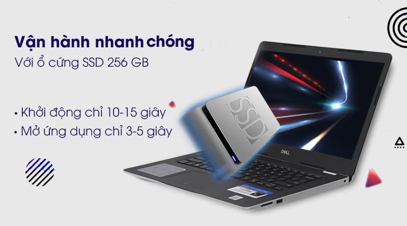 Laptop Dell Inspiron 3493 i5 (N4I5122WA) khởi động nhanh chóng