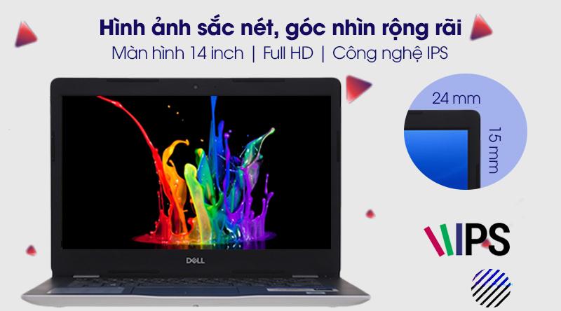 Laptop Dell Inspiron 3493 i5 (N4I5122WA) hiển thị hình ảnh mượt mà