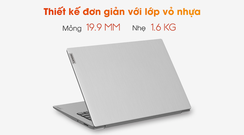 Lenovo IdeaPad 3 14IIL05 i7 | Thiết kế nhỏ gọn