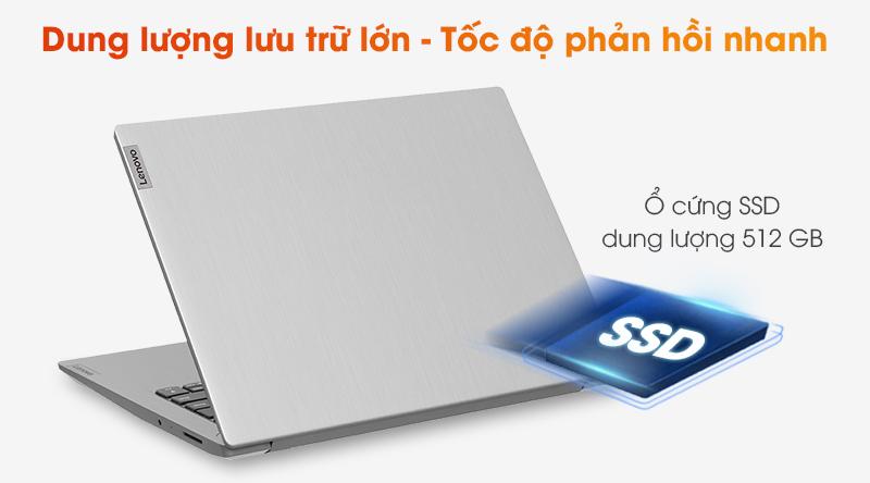 Lenovo IdeaPad 3 14IIL05 i7 | Ổ cứng SSD 512 GB