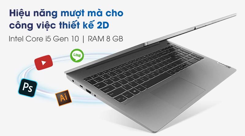 Lenovo IdeaPad 5 15IIL05 (81YK004UVN) | Core i5 thế hệ 10