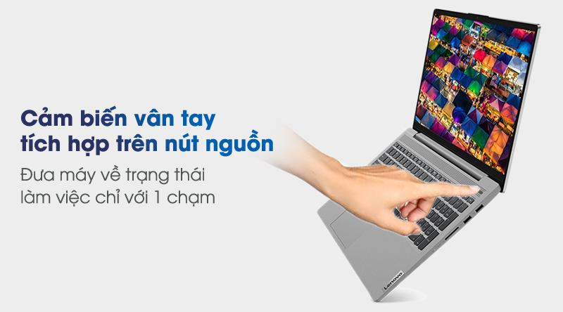 Lenovo IdeaPad 5 15IIL05 (81YK004UVN) | Bảo mật vân tay