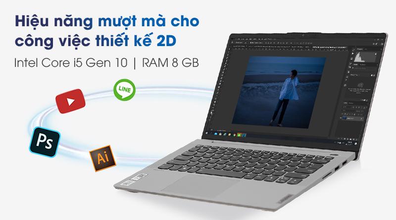 Lenovo IdeaPad Slim 5 14IIL05 i5 (81YH0050VN) - Cấu hình