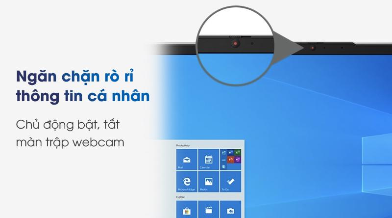 Lenovo IdeaPad 5 14IIL05 i5 (81YH0050VN) | Khóa webcam an toàn