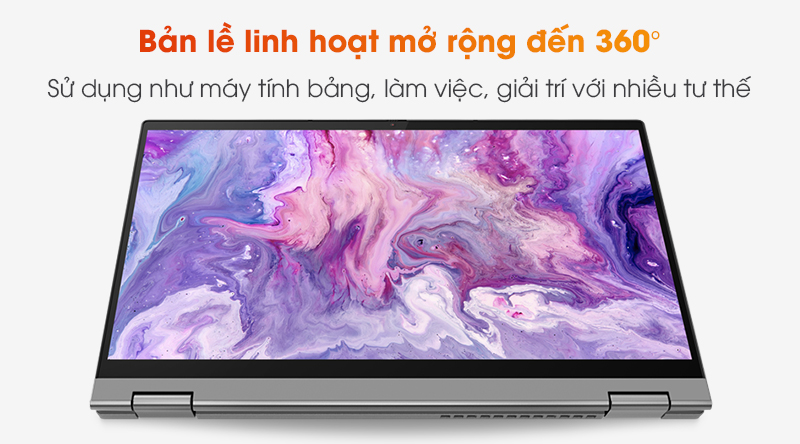 Lenovo IdeaPad Flex 5 14IIL05 i3 | Linh hoạt với bản lề 360 độ