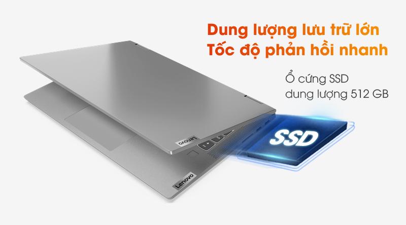 Lenovo IdeaPad Flex 5 14IIL05 i3 | Ổ cứng SSD 512 GB