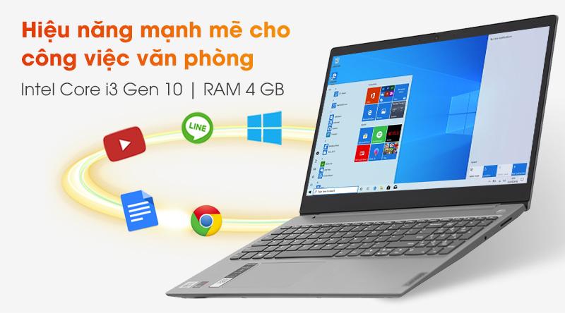 Laptop Lenovo IdeaPad 3 15IIL05 cấu hình vừa đủ dùng