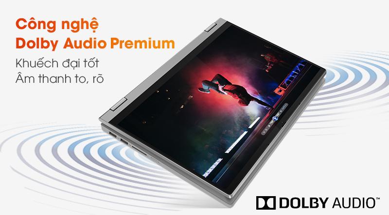 Lenovo IdeaPad Flex 5 14IIL | Sống động với công nghệ Dolby Audio