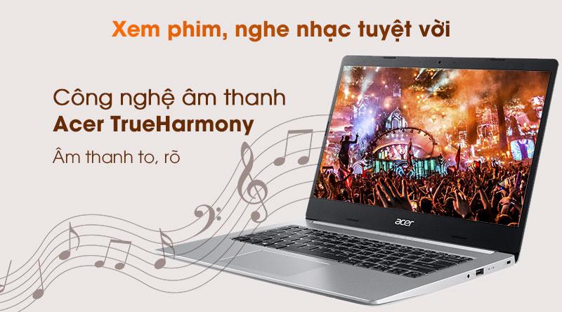 Acer Aspire A514 53 5921 i5 (NX.HUPSV.001) - Công nghệ âm thanh Acer TrueHarmony