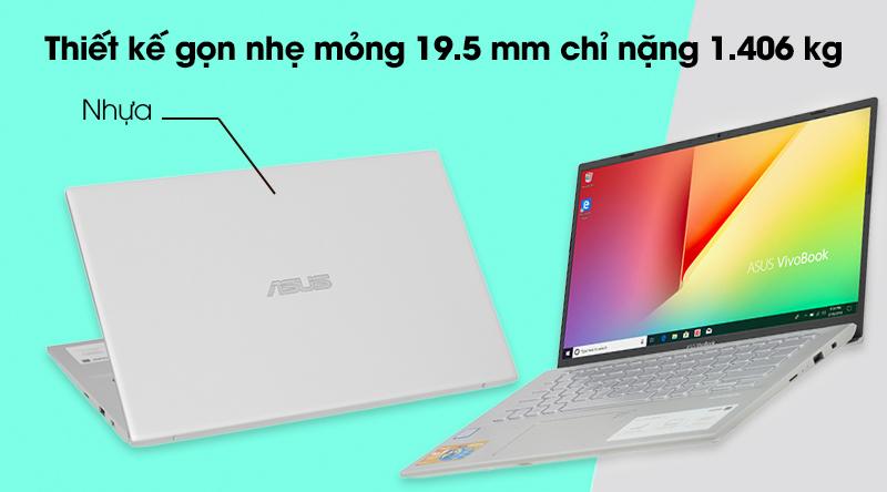 Thiết kế Asus VivoBook A412FA i3