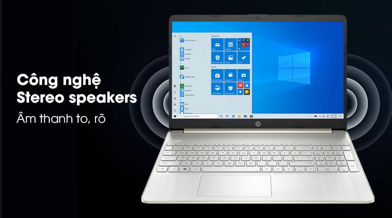 Laptop HP 15s fq0004TU (1A0D5PA) - Công nghệ âm thanh