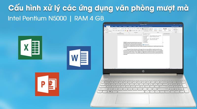 Laptop HP 15s fq0004TU (1A0D5PA) - Cấu hình