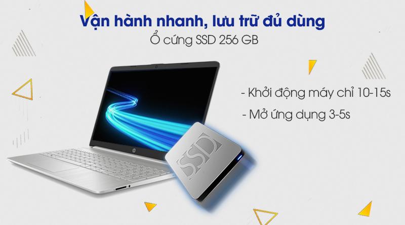 Laptop HP 15s fq1111TU i3 (193R0PA) - Ổ cứng SSD