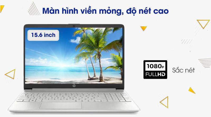 Laptop HP 15s fq1111TU i3 (193R0PA) -Màn hình