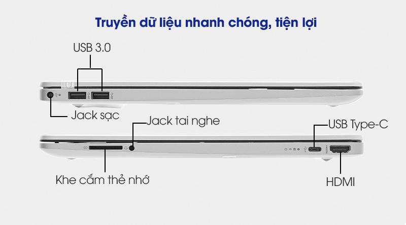 HP 15s fq1111TU i3 (193R0PA) - Cổng kết nối