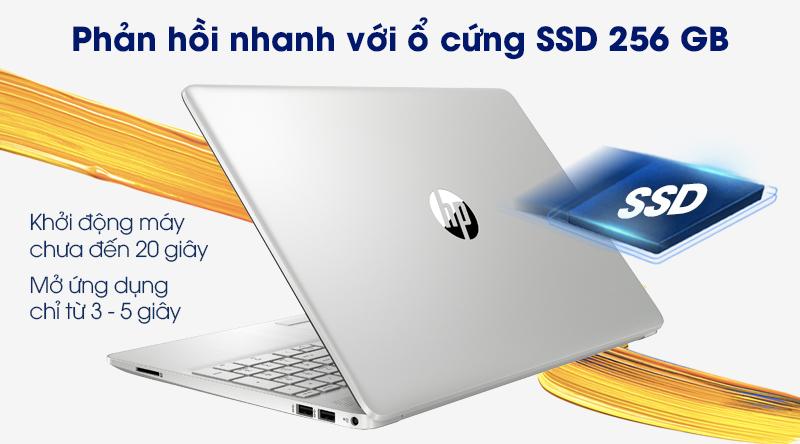 Laptop HP 15s du2050TX (1M8W2PA) | Truy xuất dữ liệu nhanh chóng