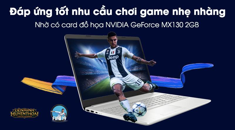 Laptop HP 15s du2050TX (1M8W2PA) | NVIDIA Geforce MX130, 2GB