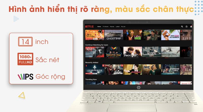 Laptop HP Pavilion 14 ce3067TU | Màn hình viền siêu mỏng