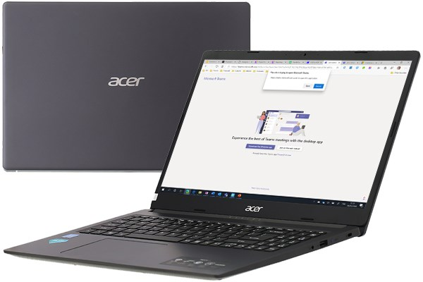 Laptop Acer Aspire A315 34 C38Y N4020/4GB/256GB/Win10 (NX.HE3SV.00G)