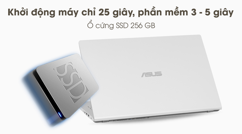 Laptop Asus VivoBook X509MA (BR271T) | Ổ cứng SSD 256 GB
