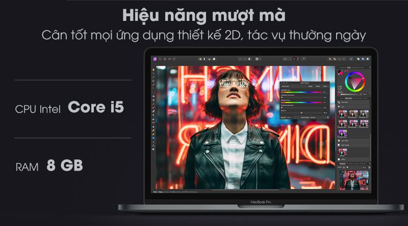 MacBook Pro Touch 2020 i5 (MXK32SA/A) | Core i5 thế hệ thứ 8 kết hợp với RAM 8 GB