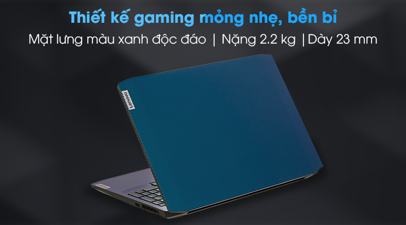 Lenovo Gaming 15IMH05 i7 (81Y40068VN) - Thiết kế