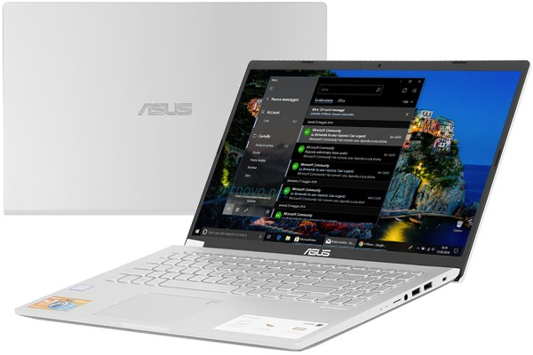 Laptop Asus VivoBook X509JA i3 1005G1/4GB/256GB/Win10 (EJ480T)