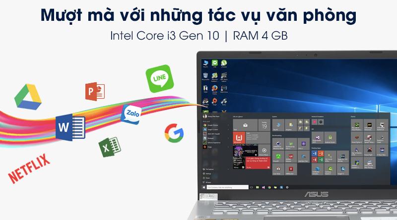 Asus VivoBook X509JA i3 | Hiệu năng xử lý ổn định
