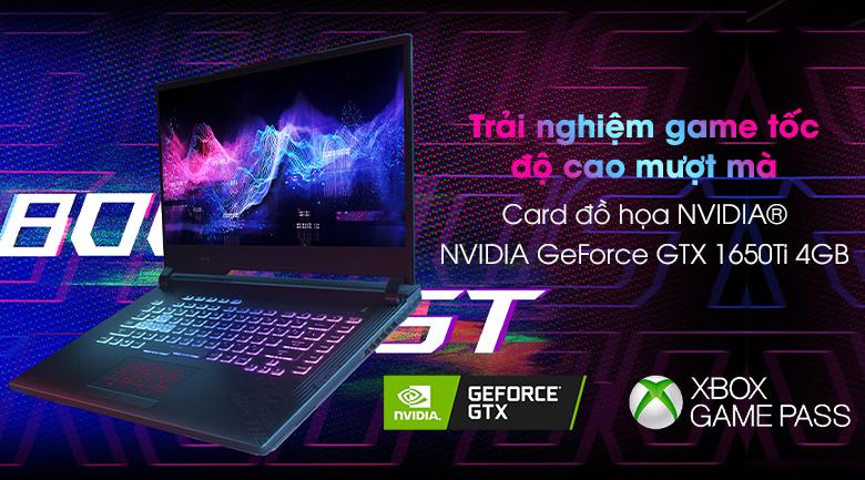Asus Gaming Rog Strix G512 i7 (IAL001T) - NVIDIA GeForce GTX 1650Ti 4GB
