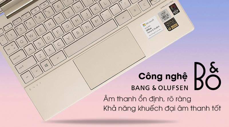 Âm thanh HP Envy 13 ba0045TU i5