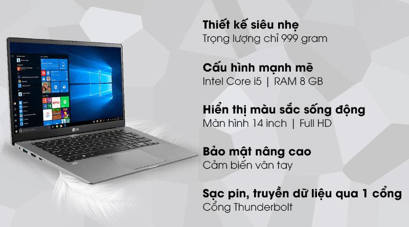 LG Gram 14 i5 1035G7 (14Z90N-V.AR52A5)