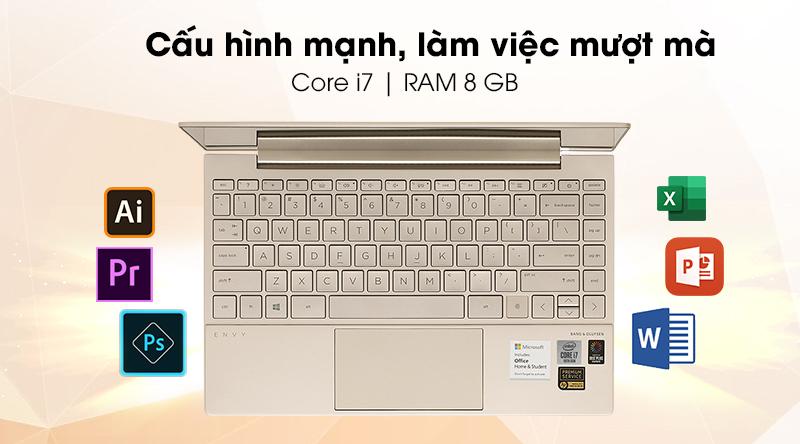 HP Envy 13 ba0047TU i7 1065G7(171M8PA)-Hiệu năng