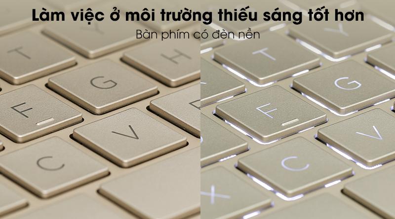 HP Envy 13 ba0047TU i7 1065G7(171M8PA)-Đèn bàn phím