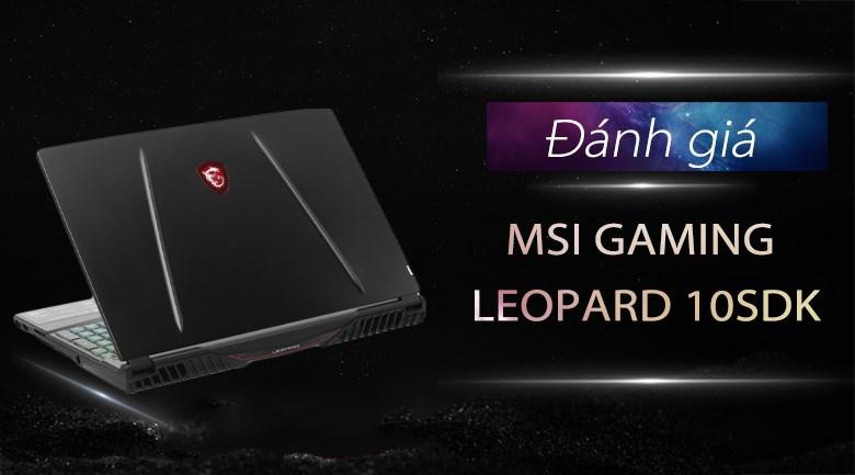 MSI Gaming GL65 Leopard 10SDK i7 10750H/144Hz (242VN)