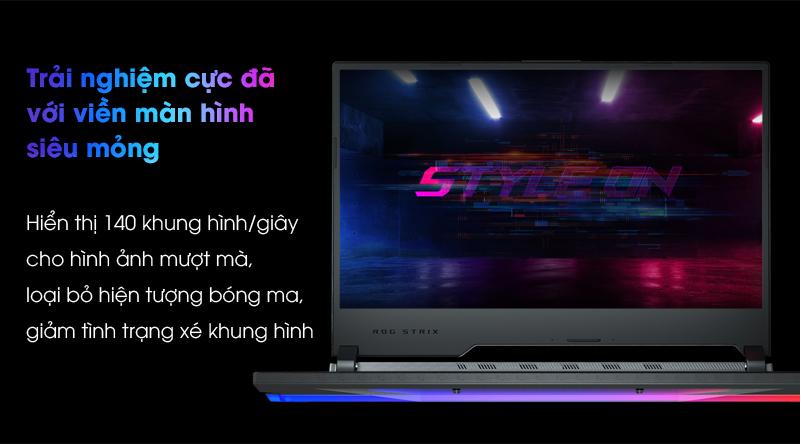 Asus Gaming ROG Strix G512   Màn hình benzel viền mỏng