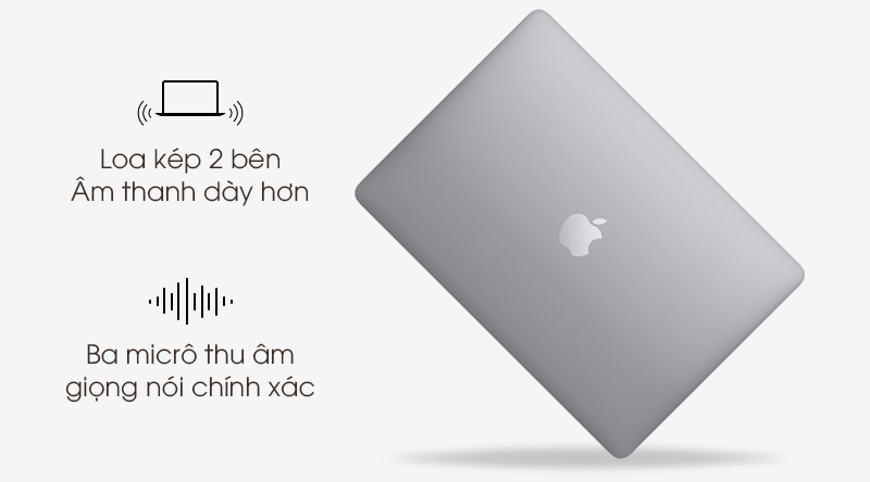 Laptop Apple Macbook Air 2020 i5 (Z0YJ) | 3 micro tích hợp